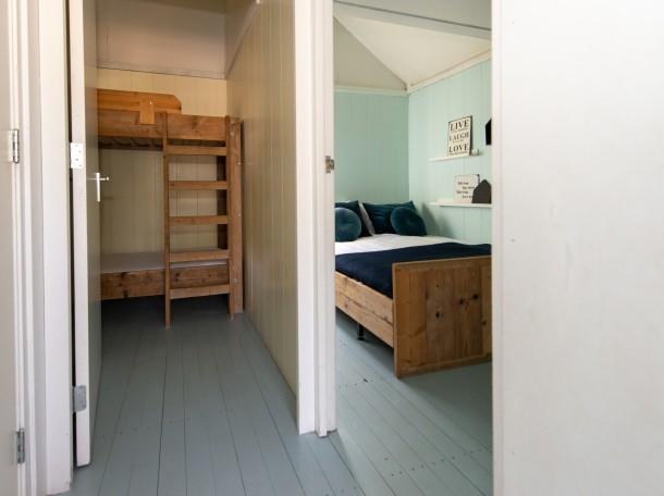 Strandhuisje slappkamer camping geversduin kennemerland
