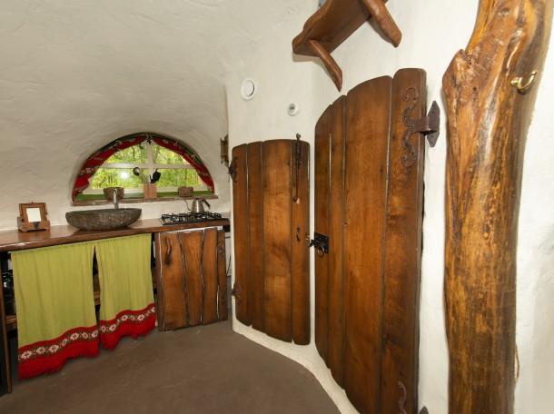 Hobbit hobbitwoning keuken camping geversduin