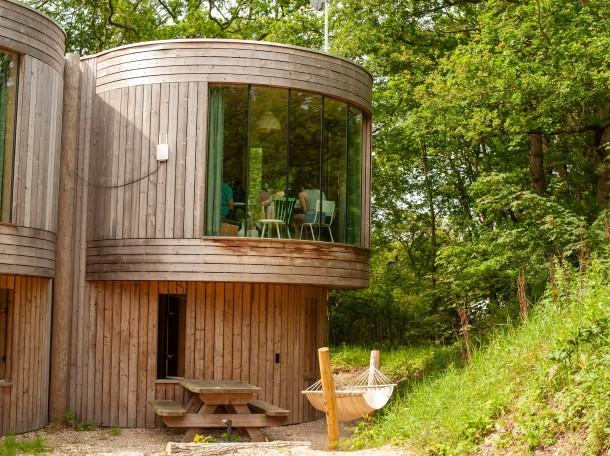 Boomhuis accommodatie camping geversduin noord holland