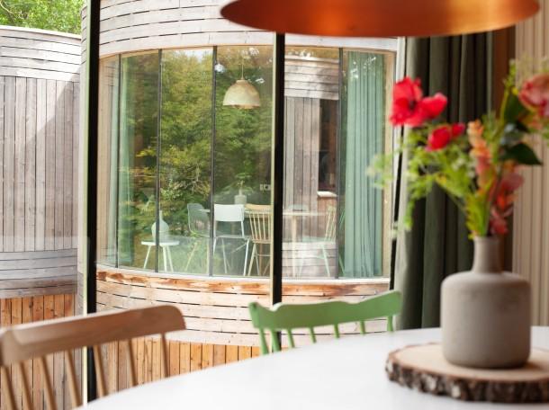 Boomhuis Boomhut inrichting accommodatie geversduin camping holland